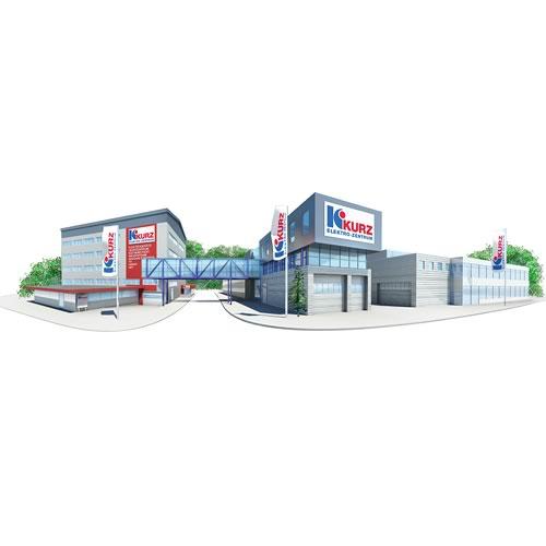 Illustration Kurz Elektrozentrum