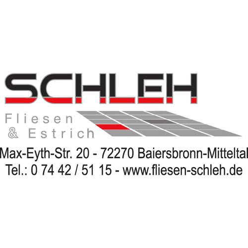Logo Schleh Fliesen & Estrich
